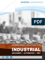 Industrial Connectors Capabilities Brochure