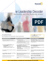 Diverseo - The Leadership Decoder – Discovering Your True Leadership Drivers