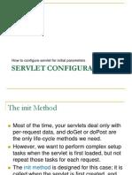 Servlet Config and Context