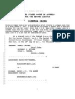 NY 2ndUSCA Order LandesbankBaden Wurttemberg v GoldmanSachs