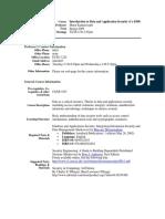 UT Dallas Syllabus for cs4389.001.09s taught by Murat Kantarcioglu (mxk055100)