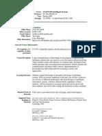 UT Dallas Syllabus for cs6373.001.09s taught by   (moldovan)