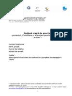 Opţiuni stagii de practică - anul I.doc
