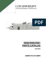 PC_v06 Parts Manual Savin 907ex