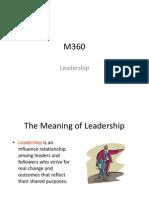 Leadership & Control