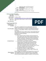 UT Dallas Syllabus for hdcd5312.501.09s taught by Jacoba Vanbeveren (jtv013100)