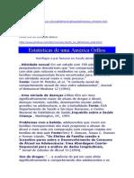 Estatística de uma América de Órfãos.doc