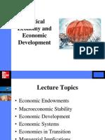 IBG - Political Economy and Economic Development s2 2014