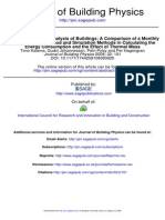 Accuracy of Energy Analysis of Buildings