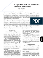 PWM Andf PFM Operation of DC-DC Converters for Portable Applications