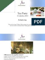 tea party 14 oktober 2014