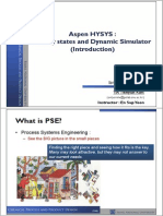 Aspen HYSYS_Steady states and Dynamic Simulator (Introduction).pdf