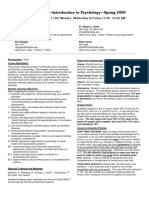 UT Dallas Syllabus for psy2301.001.09s taught by James Bartlett (jbartlet)