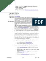 UT Dallas Syllabus for sci5425.0t1.09s taught by Rebekah Nix (rnix)