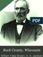 Rock County Wisconsin History Vol 2 1908