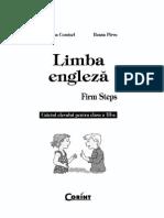 Firm Steps - Caietul Elevului - Clasa a III-A