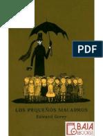 Edward Gorey - Los Pequenos Macabros (ESPANHOL).pdf
