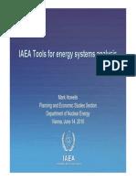 IAEA Tools for Externalities ( Presentation)