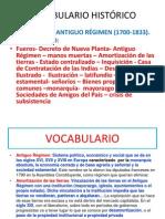 Bocabulario XVIII.ppt