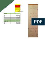 Excel Calcul cric simplu