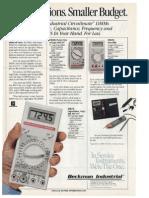 Multimeter - Beckman [1987].pdf
