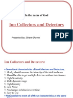 Ion Collectors and Detectors