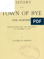 History of the Town of Rye New Hampshire 1905