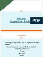 Relación Hospedero - Parásito.ppt
