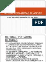 HERIDA CON ARMAS BLANCAS.pptx