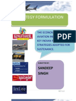 Final Project Report on Indian Aviation Industry