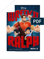 Five Act Structure in Wreck It Ralph