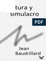 Cultura y simulacro   Jean Baudrillard.pdf