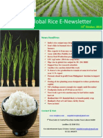 13th October,2014 Daily Global Rice E-Newsletter by Riceplus Magazine
