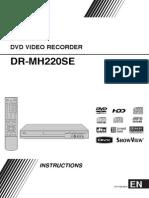 Jvc Dr Mh220