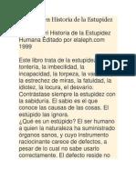 Paul Tabori en Historia de la Estupidez Humana.docx