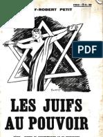 Petit Henry-Robert - Les juifs au pouvoir