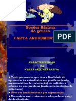 A carta. 8° ano..ppt