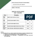 Examene_20.01-16.02_master - Cariera Judiciara