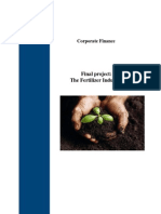 Finance review of Fertilizer sector 2014