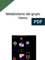 Metabolismo Del Grupo Hemo