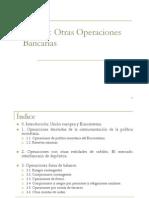 Otras operaciones bancarias