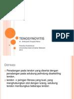 Dr.ardhy - Tenosynovitis