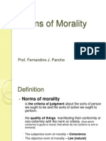 Lesson 6.Norms of Morality