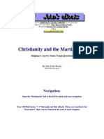 Christianity and the Martial Arts