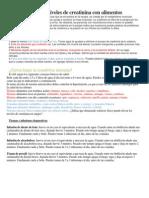 Cómo reducir los niveles de creatinina con alimentos.docx
