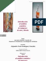 Introducción al análisis semiótico de imágenes de arte y diseño / ¿qué es un signo?-Alejandro Oscar Rodríguez González