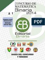 Matemáticas y olimpiadas- Bases Concurso Binaria 2014.pdf