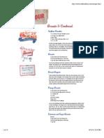 Sunflower Flour Recipes