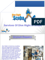 Services Of Dive Right In Scuba