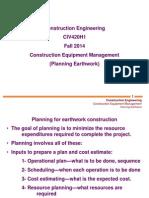 5 - Planning Earthwork